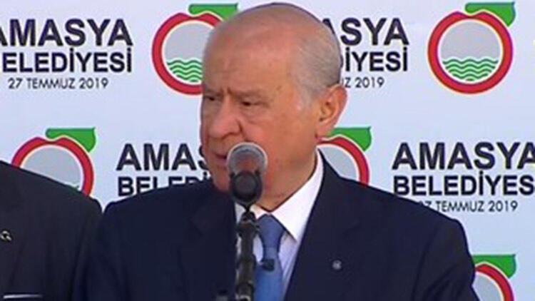 MHP lideri Bahçeli'den güvenli bölge açıklaması