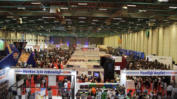 GameX Uluslararası Oyun ve Eğlence Fuarı başlıyor