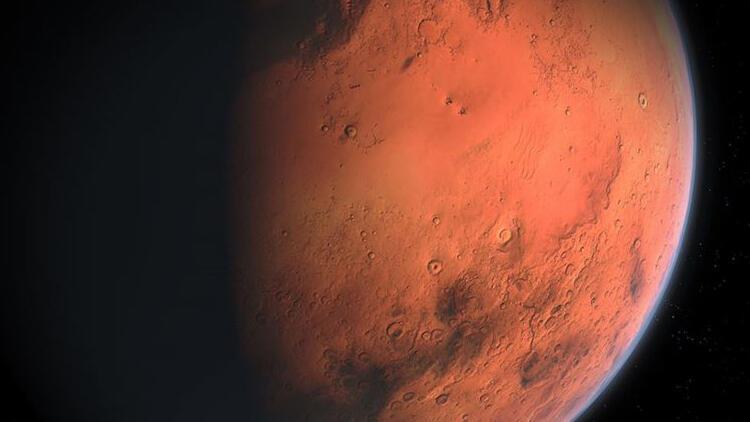 """Çin, Huaylay ilçesindeki özel alanda """"Mars'a iniş testi"""" yaptı"""