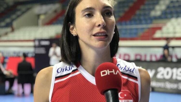 Naz Aydemir: Hepimiz madalya istiyoruz