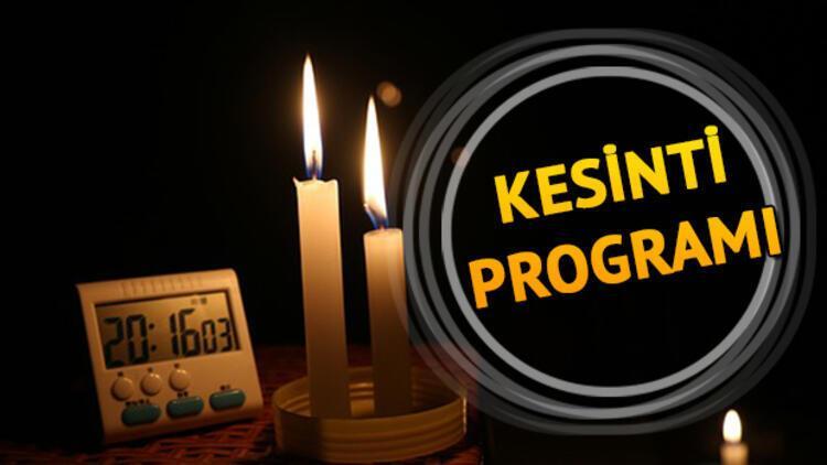 4 Ağustos Pazar günü İstanbul'da elektrik kesintisi - Elektrikler ne zaman gelecek?