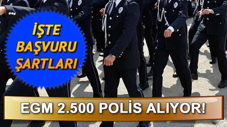 PMYO polislik başvuru şartları neler? Önlisans ve lise polis alımı başvurusu nasıl yapılır?