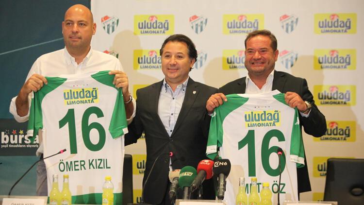 Bursaspor'da Uludağ Limonata ile iş birliği devam ediyor