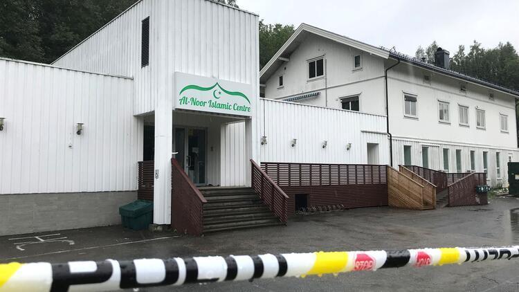 Norveç'te cami saldırısına terör soruşturması