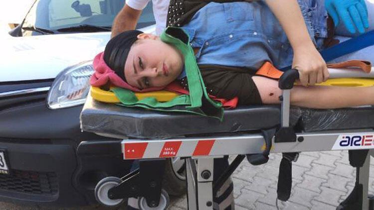 19 yaşındaki Rabia, baba kurşunu ile sakat kaldı
