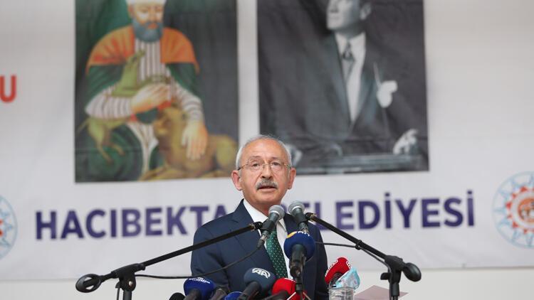CHP Genel Başkanı Kılıçdaroğlu, Hacı Bektaş Veli'yi Anma Törenleri'nde konuştu