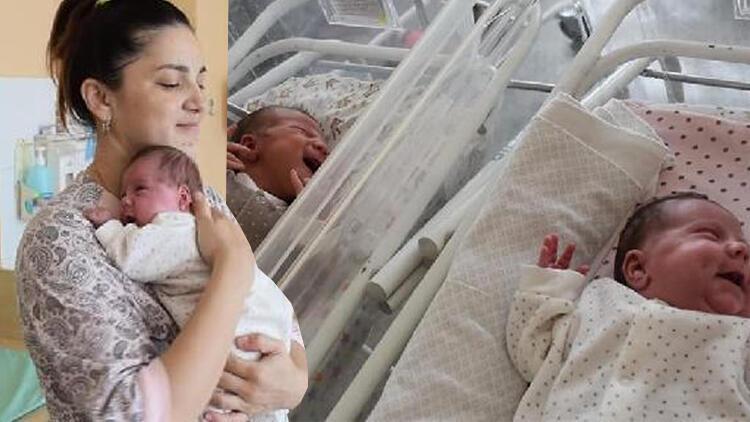 Doktorlar bile şaşkına döndü! Üç ayda iki kez doğurdu