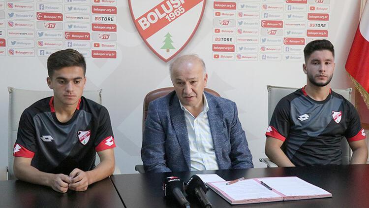 Boluspor'da 3 yeni transfer