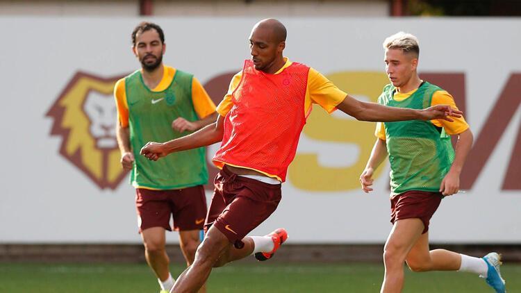 Galatasaray'da yeni transfer ilk idmanına çıktı