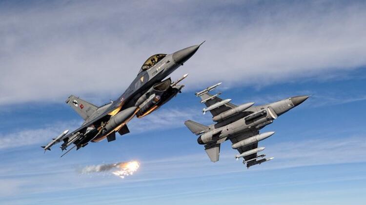Son dakika... Kuzey Irak'a hava harekatı: 5 terörist etkisiz hale getirildi