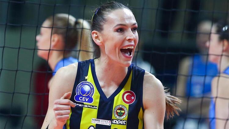 Eda Erdem Dündar 1 yıl daha Fenerbahçe'de!