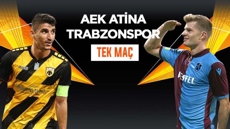 Trabzonspor, Atina'dan avantajlı skorla dönebilecek mi? Rakip AEK, iddaa'da TEK MAÇ...