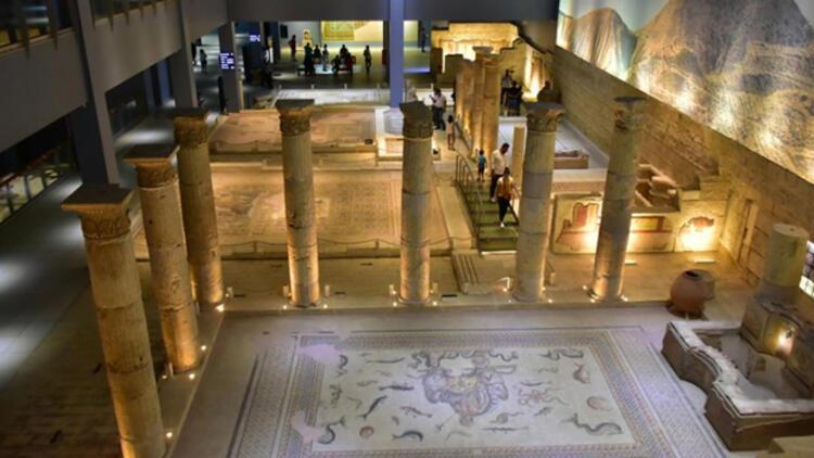 Zeugma Mozaik Müzesi'ne ziyaretçi - Keyif Haberleri