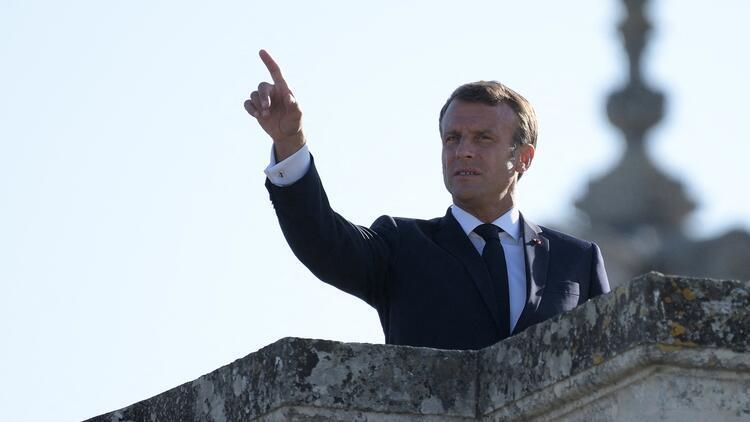 """Macron'dan """"Cammu Keşmir"""" açıklaması"""