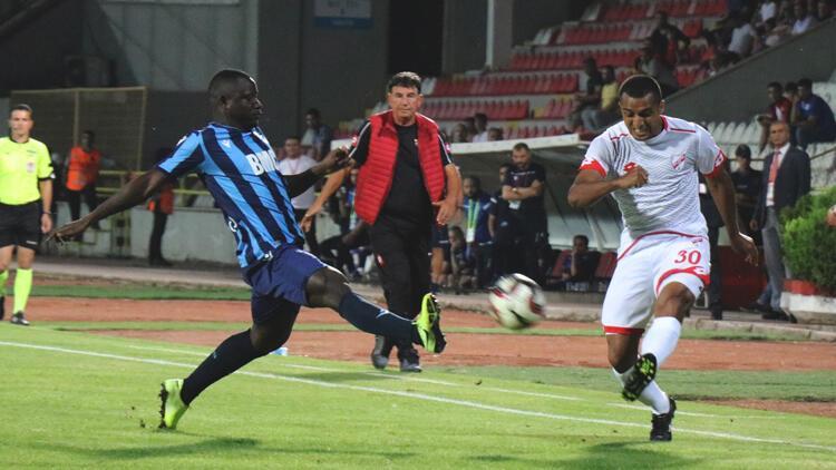 Boluspor ile Adana Demirspor yenişemedi