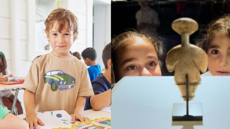 Çocuklar için müzede kültür sanat etkinliği