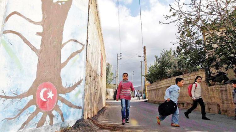 Lübnan'da unuttuğumuz 400 yıllık Türk köyü : Türkiye özlemini gidermek için evler kırmızıya boyanıyor