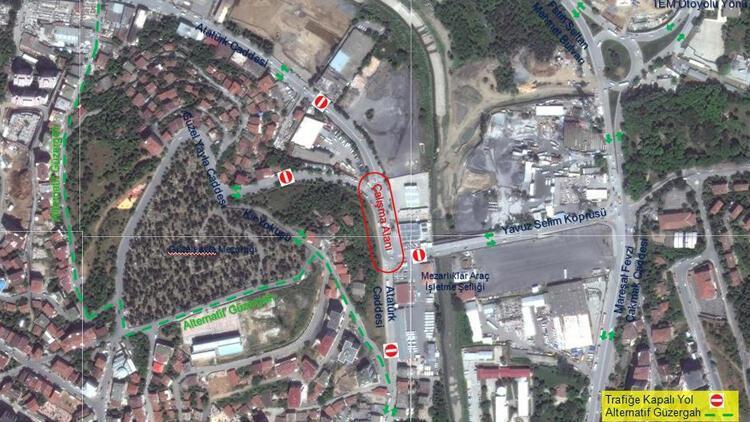 İstanbullular dikkat! O yol 30 gün kapatılacak…