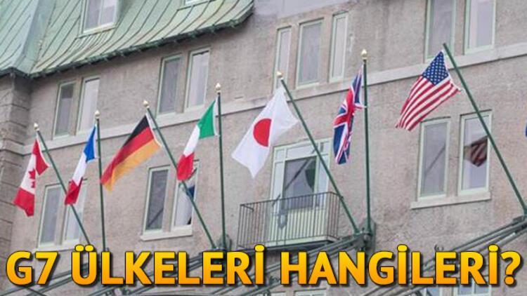 G7 nedir? G7 ülkeleri hangileridir?