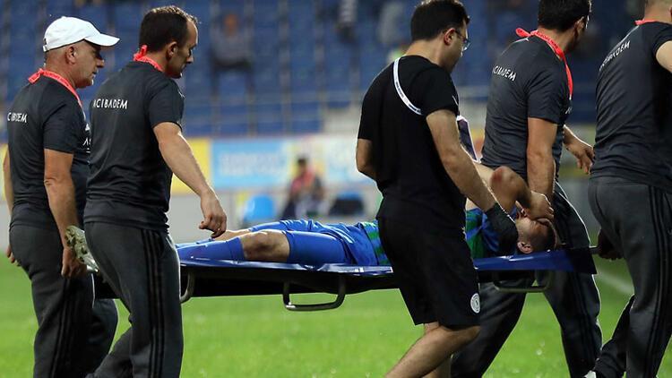El Kabir'in ayağında kırık!