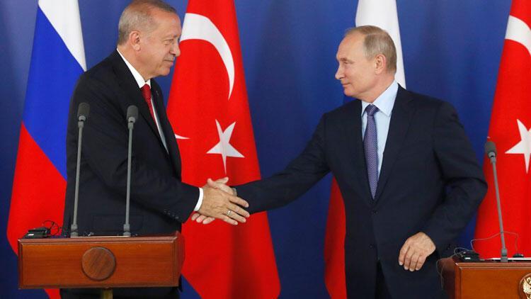 Cumhurbaşkanı Erdoğan ile Putin'den önemli açıklamalar