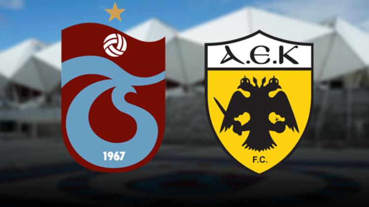 Trabzonspor AEK maçı ne zaman saat kaçta ve hangi kanalda?