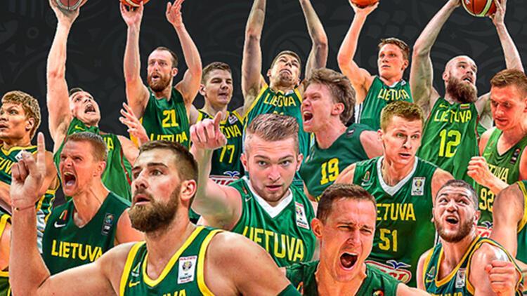 Litvanya'nın Dünya Kupası'nda hedefi olimpiyat bileti!