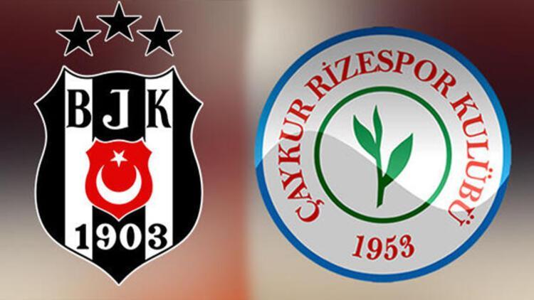 Beşiktaş-Çaykur Rizespor maçı ne zaman, saat kaçta, hangi kanalda yayınlanacak?