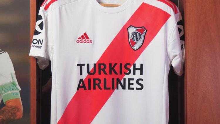 Türk Hava Yolları River Plate'e forma sponsoru oldu