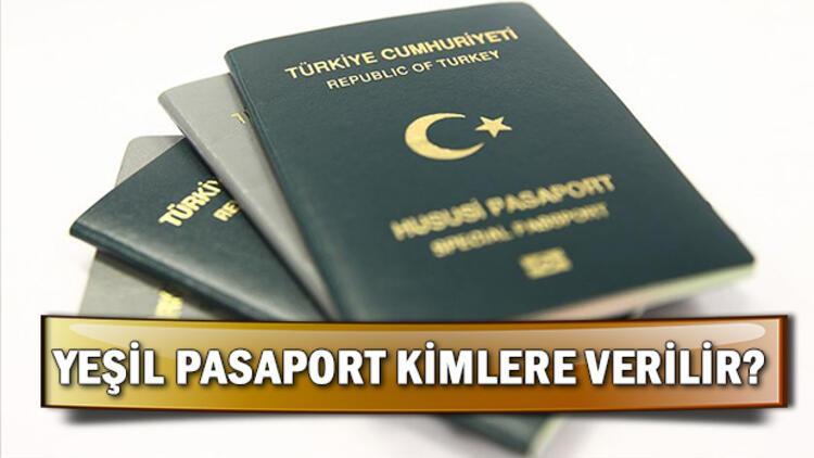 Yeşil pasaport kimlere verilir? Yeşil pasaport başvurusu nası yapılır?