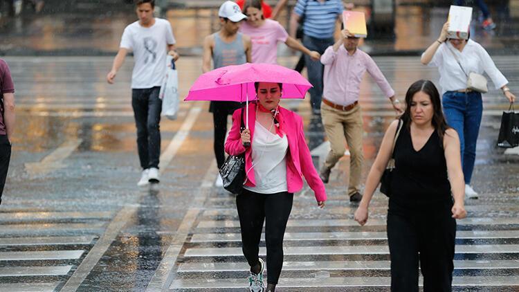 Son dakika: Meteoroloji'den o bölgeler için yağış uyarısı