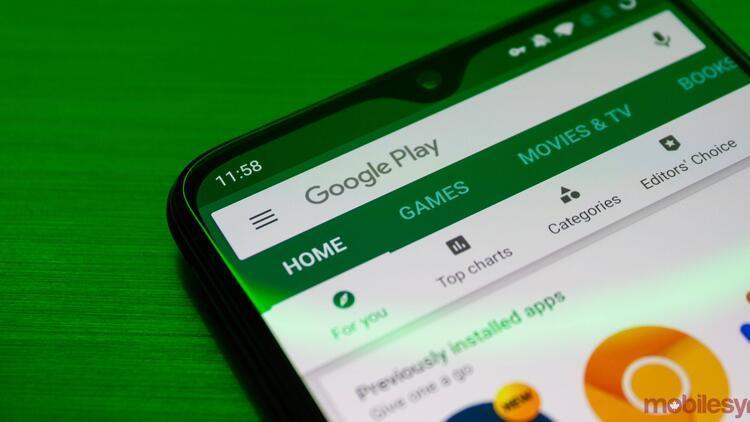 Google Play Store'da videolar otomatik oynamaya başlıyor