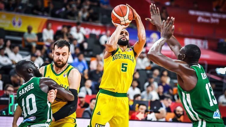 Senegal ikinci yarı çözüldü! Avustralya'dan 13 sayı fark...