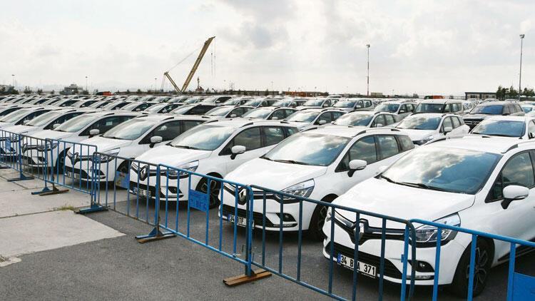 Kiralık araçlar Yenikapı'da