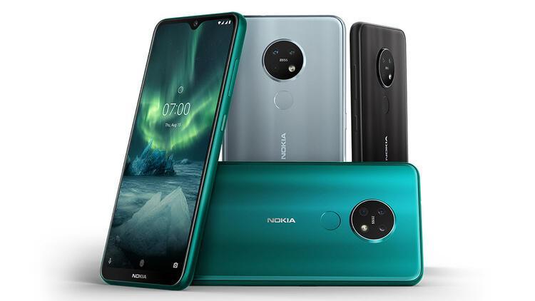 Nokia 6.2 ve Nokia 7.2 tanıtıldı: İşte tüm özellikleri