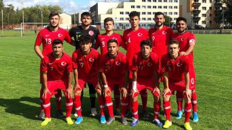 U19 Milli Takımımız, Kıbrıs Rum Kesimi'ne 1-0 yenildi!