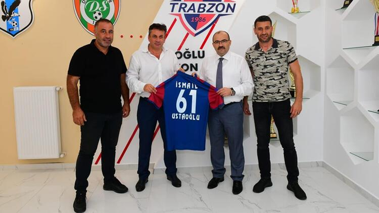 Trabzon Valisi İsmail Ustaoğlu'ndan, Trabzonspor'a ziyaret