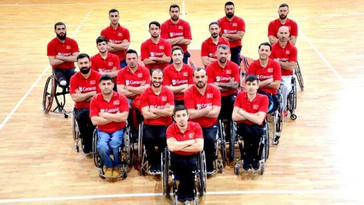 Tekerlekli sandalye basketbolunda Avrupa üçüncüsü olduk!