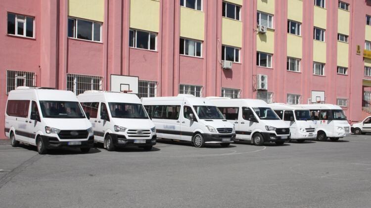 İstanbul'da 20 bin okul taşıtı trafiğe çıktı