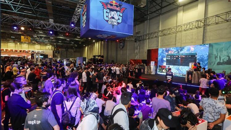 Red Bull Gaming Ground'a Gamex'te yoğun ilgi