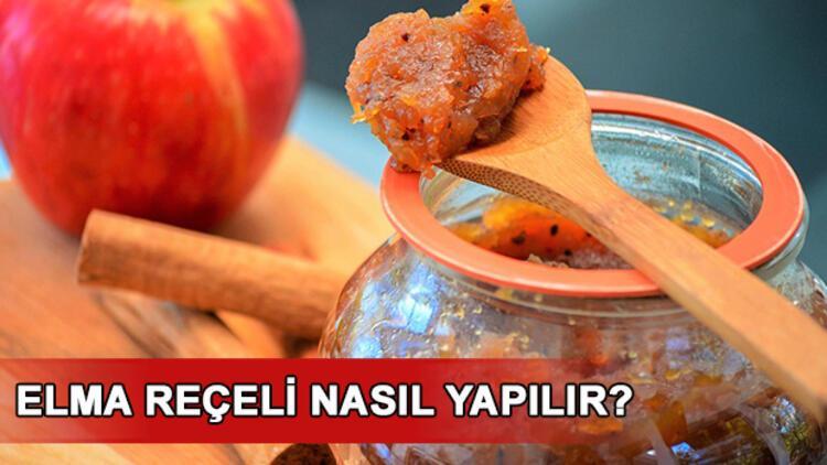 Elma reçeli nasıl yapılır? İşte elma reçeli tarifi