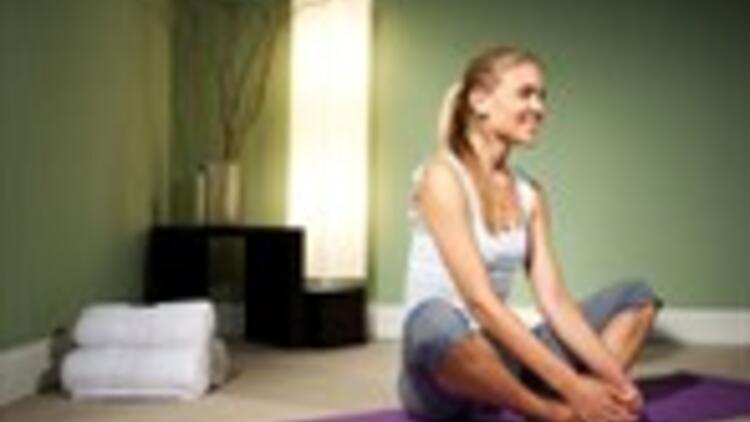Evinizde yoga yapın!