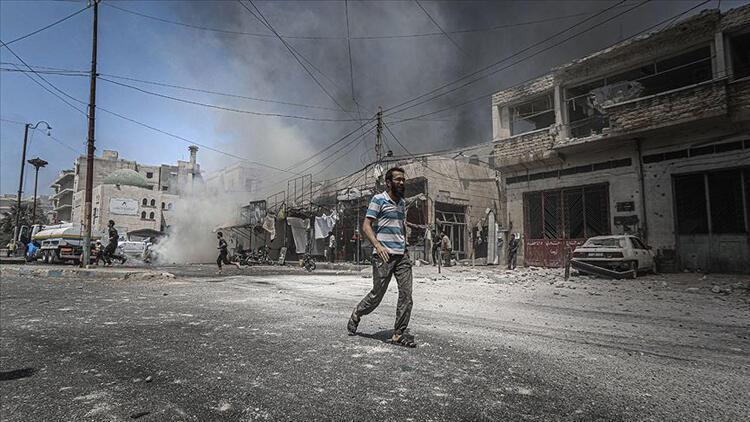 Rusya İdlib'i yine vurdu