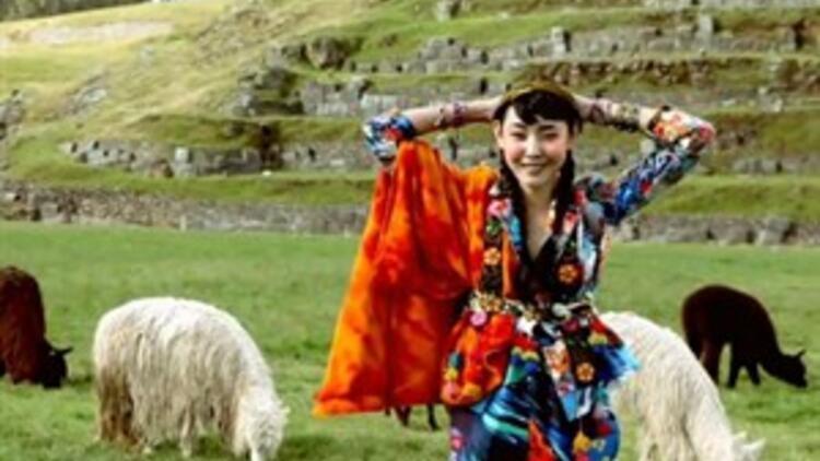 Peru'nun renkli modası!