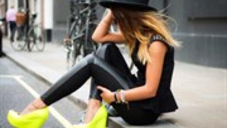 Ünlü markaların deri pantolonları