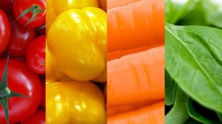 Sağlık dolu renkler!