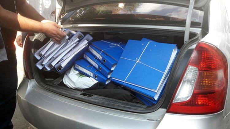 FSM'deki operasyonda yakalandılar! Bir bagaj dosyaları varmış