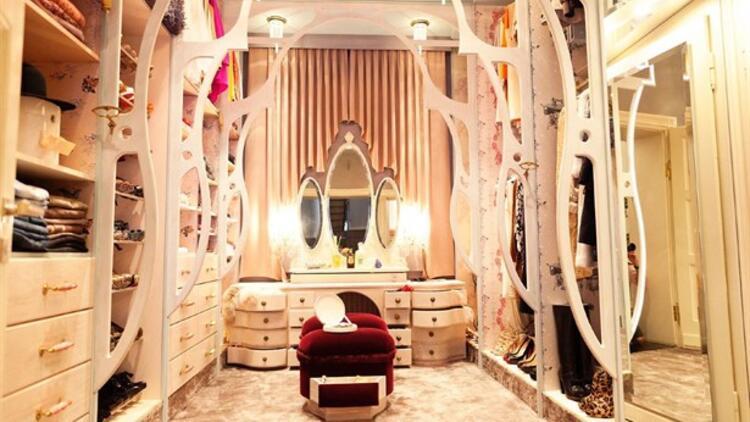 En şık giyinme odası önerileri!