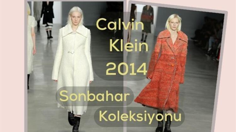 Calvin Klein 2014 Sonbahar&Kış Koleksiyonu