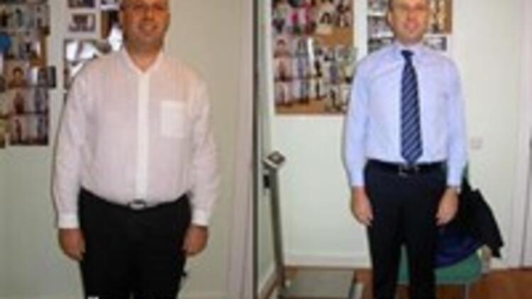 9 ayda 32 kilo verdi!